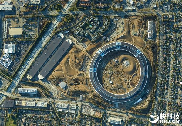 17亿像素!苹果飞船总部最高清图:可数毛