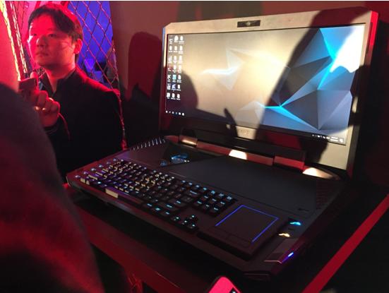 售价79999元 Acer发曲面屏电竞游戏本掠夺者21X