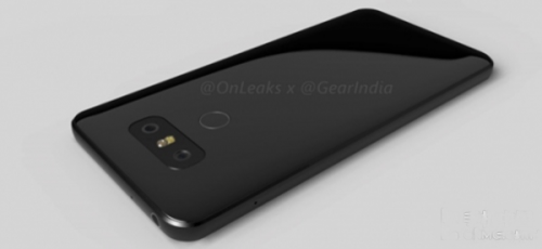 LG G6渲染图亮相:双玻璃机身塑造高颜值