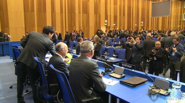 中国工控安全企业亮相国际原子能机构部长级会议