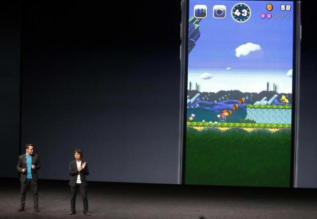 超级马里奥游戏今日登陆iPhone:可免费下载 不包括中国